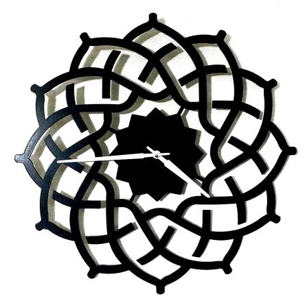 Illegal copy of our clock model Arabesque from the turkish website markabul.com